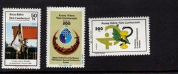 672557887 TURKISH CYPRUS 1987 POSTFRIS MINT NEVER HINGED POSTFRISCH EINWANDFREI SCOTT 210 211 212 - Chypre (Turquie)
