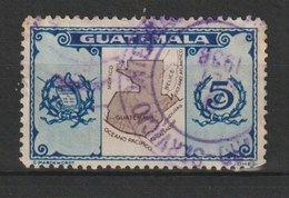 MiNr. 292 Guatemala, 1935, Nov./1936. Freimarken: Nationale Symbole. - Guatemala