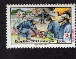 672562699 URKISH CYPRUS 1988 POSTFRIS MINT NEVER HINGED POSTFRISCH EINWANDFREI SCOTT 230 CIVIL DEFENSE - Chypre (Turquie)