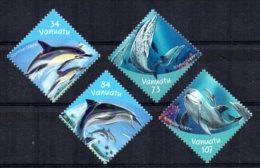 Vanuatu - 2000 - Dolphins - MNH - Vanuatu (1980-...)