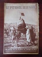 Le Patriote Illustré N° 8 Bibliothèque De Louvain - Mariage Chez Les Berbères D'Afrique Du Nord - Hollywood... - Livres, BD, Revues