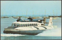 British Rail SR-N6 Seaspeed Hovercraft, C.1970 - W J Nigh & Son Postcard - Hovercrafts