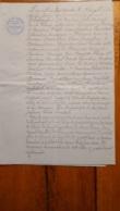 EXPLOIT D'HUISSIER  JUIN 1904  ISIGNY SUR MER CALVADOS - Documents Historiques