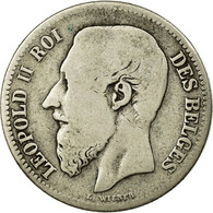 Monnaie, Belgique, Leopold II, 2 Francs, 2 Frank, 1866, TB, Argent, KM:30.1 - 1865-1909: Leopold II