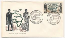 GABON => FDC - Fondation D'Air Afrique - 17 Février 1962 - Libreville - Gabon (1960-...)