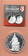 NEDERLAND DUKAAT NOORD BRABANT 2008 ZILVER PROOF - [ 3] 1815-… : Royaume Des Pays-Bas