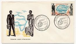 TCHAD => FDC - Fondation D'Air Afrique - 17 Février 1962 - Fort Lamy - Tschad (1960-...)