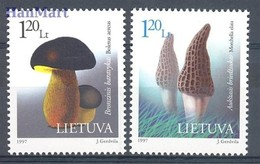 Lithuania 1997 Mi 649-650 MNH ( ZE3 LTH649-650 ) - Lituania