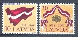 Latvia 1998 Mi 490-491 MNH ( ZE3 LTV490-491 ) - Timbres