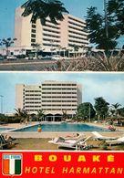 1 AK Elfenbeinküste Côte D'Ivoire * Hotel Harmattan In Der Stadt Bouake - IRIS Karte Nummer 7490 * - Elfenbeinküste