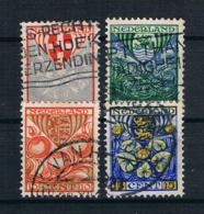 Niederlande 1926 Mi.Nr. 192/95 Kpl. Satz Gestempelt - 1891-1948 (Wilhelmine)