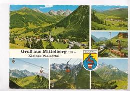 Gruss Aus Mittelberg 1218 M, Kleines Walsertal, Austria, 1981 Used Postcard [22335] - Austria