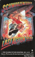 JAPAN - Last Action Hero ,Schwarzenegger ,Cinema (110-011) , Used - Cinéma