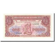 Billet, Grande-Bretagne, 1 Pound, Undated (1956), KM:M29, NEUF - Emissions Militaires