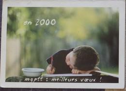 Petit Calendrier De Poche 2000 MG PTT Mutuelle Générale Des PTT - Calendriers