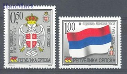 Republic Of Serbia 2002 Mi 230-231 MNH ( ZE2 SRB230-231 ) - Timbres