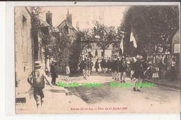 28 Arrou (brou, Chateaudun) Fete Du 14 Juillet 1904 Rare - France