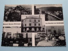 """Hôtel """" BEAU RIVAGE """" Prop. Mademoiselle Liegeois ( Thill ) Anno 19?? ( Zie Foto's / Zie Kreukjes à Hoeken ) ! - La-Roche-en-Ardenne"""