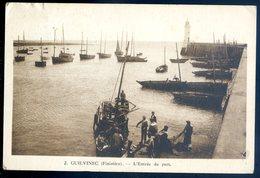 Cpa  Du 29 Guilvinec L' Entrée Du Port   GX27 - Guilvinec