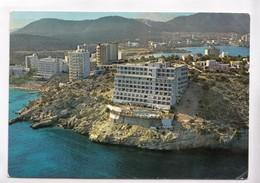 Spain, MALLORCA, MAGALUF, Vista Parcial Aerea, Partial Aerial View, 1970 Used Postcard [22340] - Mallorca