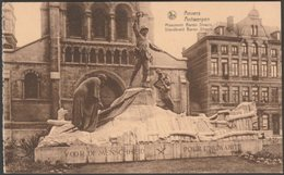 Monument Baron Dhanis, Anvers, C.1910s - Lilot Nels CPA - Antwerpen