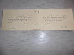 Document ( 472 ) Faire - Part Huwelijk De Jaeger / Van De Veere - Ijzendijke  Kaprijke Caprycke  1939 - Mariage