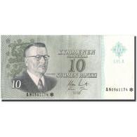 Billet, Finlande, 10 Markkaa, 1963, 1963, KM:104r, TTB - Finlande