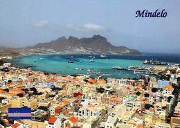 1 AK Cap Verde * Blick Auf Die Stadt Mindelo Auf Der Insel São Vicente - Luftbildaufnahme * - Cap Vert