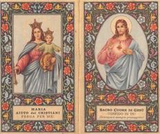 """08869 """"CALENDARIETTO-MARIA AIUTO DEI CRISTIANI-SACRO CUORE DI GESU' 1964-SANTUARIO S.CUORE SALESIANI BOLOGNA"""" CROMO - Calendari"""