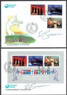 Faroe Islands 1993.  10 Anniv Nordic House.  Michel 243c-245c + Bl.6  FDC.   Signed. - Féroé (Iles)
