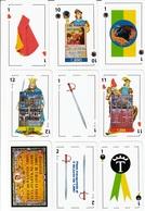 BARAJA ESPAÑOLA, PLAYING CARDS DECK,  DE CARTELES TAURINOS DEL PUERTO DE SANTA MARIA - Barajas De Naipe