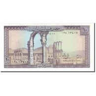 Billet, Lebanon, 10 Livres, KM:63c, NEUF - Liban