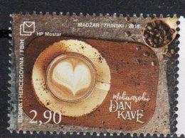 BOSNIA CROAT , 2018, MNH, DRINKS, INTERNATIONAL COFFEE DAY, COFFEE, 1v - Drinks
