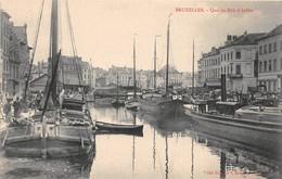 BELGIQUE - BRUXELLES - Quai Au Bois à Brûler - Maritime