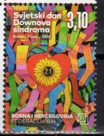 BOSNIA CROAT , 2018, MNH, WORLD DOWN SYNDROME DAY,1v - Other