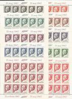 YU 1967-1206-15 75A°BORNDAY OF PRESIDENT TITO, JUGOSLAVIA, 10MS, MNH - Blocks & Kleinbögen