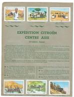 Expédition Citroën Centre Asie (Croisière Jaune)12 Chromos Collées Sur 2 Pages D'album TB 2 Scans - Nestlé