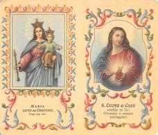 """08877 """"CALENDARIETTO-MARIA AIUTO DEI CRISTIANI-SACRO CUORE DI GESU'- SANTUARIO SALESIANI BOLOGNA-1957"""" - Small : 1941-60"""
