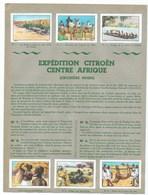 Expédition Citroën Centre Afrique (Croisière Noire)12 Chromos Collées Sur 2 Pages D'album TB 2 Scans - Nestlé