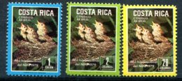 Costa Rica     PA  799/801  **  Oiseaux - Costa Rica
