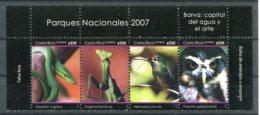 Costa Rica          837/840  **   Serpent - Costa Rica