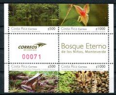 Costa Rica          937/940  **   Faune - Costa Rica
