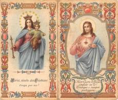 """08882 """"CALENDARIETTO-AIUTO DEI CRISTIANI-SACRO CUORE DI GESU'- SANTUARIO SALESIANI BOLOGNA-1942"""" - Calendari"""
