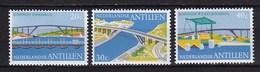 Nederlandse Antillen - Koningin Emmabrug/Koningin Julianabrug/Koningin Wilhelminabrug - MNH - NVPH 500-502 - Bruggen