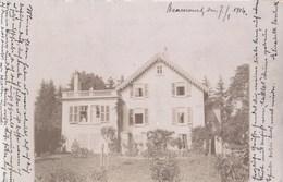 Alte Photo - Pk / Beaucourt - Wohnhaus, Gel.1904 - Beaucourt