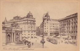 AK Wien - Albrechtsplatz - Mozartdenkmal (37806) - Wien Mitte