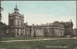 Wentworth House, Rotherham, Yorkshire, 1906 - BRLD Postcard - Autres