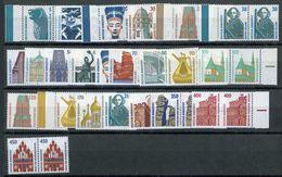 Sehenswürdigkeiten Waagerechte Paare Postfrisch - Mchel über 60 € - [7] République Fédérale