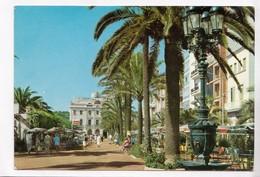 LLORET DE MAR, Fuente De Canaletas, Y Paseo Verdaguer, Used Postcard [22344] - Gerona