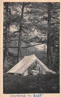 ¤¤  -   SCOUTISME   -  La Cheftaine Au Camp   -  Camping En Forêt  -  Scout   -  ¤¤ - Pfadfinder-Bewegung